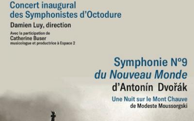 Concert inaugural des Symphonistes d'Octodure