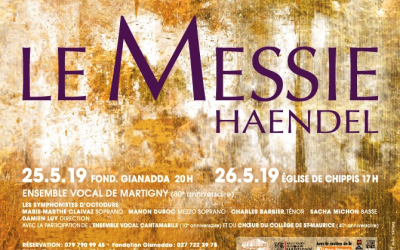 Messie de Händel avec l'Ensemble vocal de Martigny