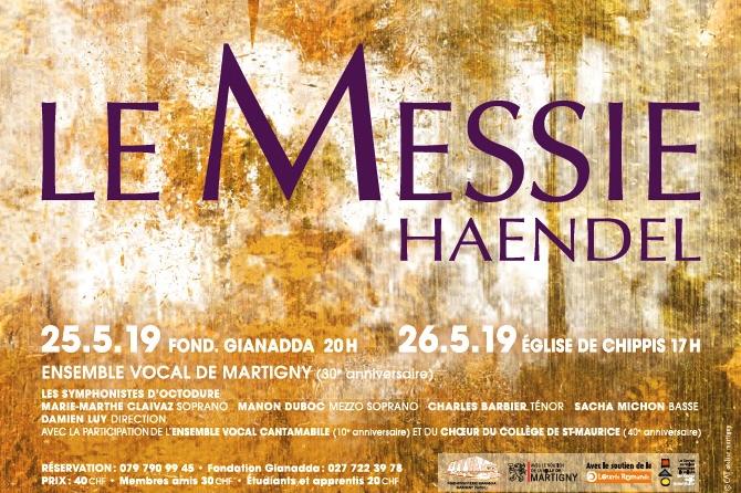 Messie de Händel avec l'Ensemble vocal de Martigny